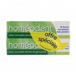 HOMEODENT Soint complet dents et gencives lo de 2 x 75ml